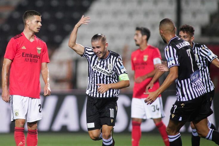 Benfica foi eliminado da Champions pelo PAOK