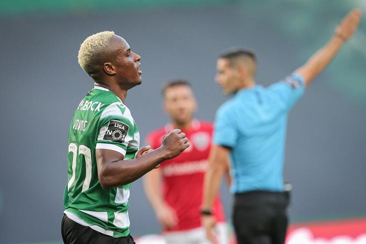 Jovane fez o golo da vitória do Sporting frente ao Santa Clara