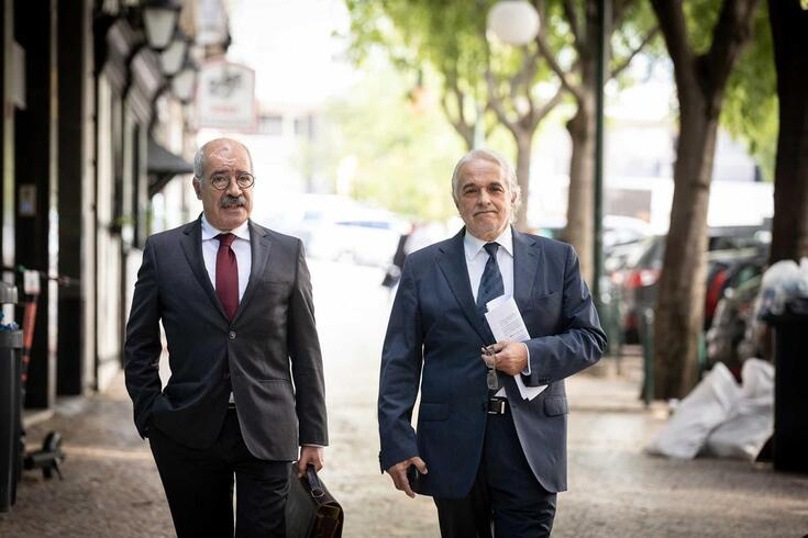 Rui Rangel (à direita)