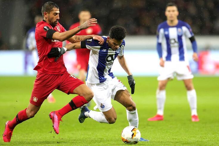 Luis Díaz marcou o golo do FC Porto na Alemanha
