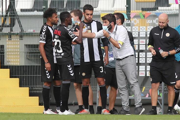 Luís Freire, treinador do Nacional