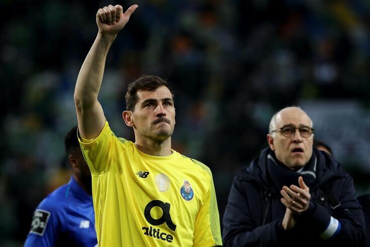 Iker Casillas coloca ponto final na carreira