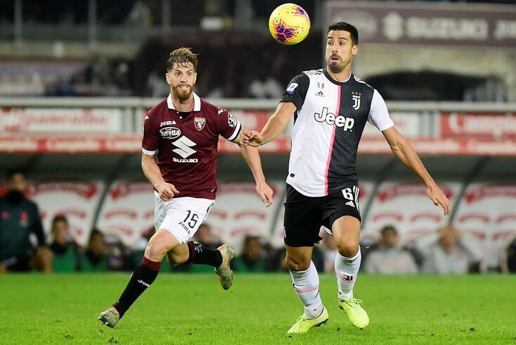 Sami Khedira fez 17 jogos na presente época pela Juventus