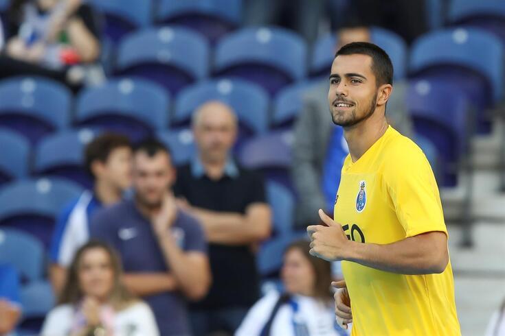 Diogo Costa tem um jogo esta época, para a Taça da Liga