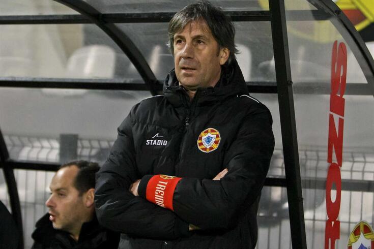 Paulo Alves, treinador do Varzim.