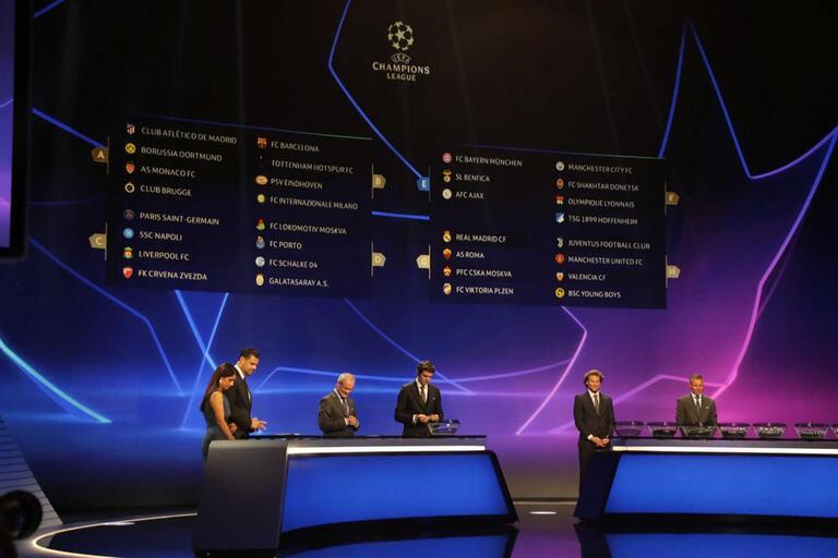 Champion Liga Calendario.Calendario Completo Da Fase De Grupos Da Liga Dos Campeoes