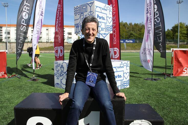 Rosa Mota foi campeã olímpica, mundial e da Europa