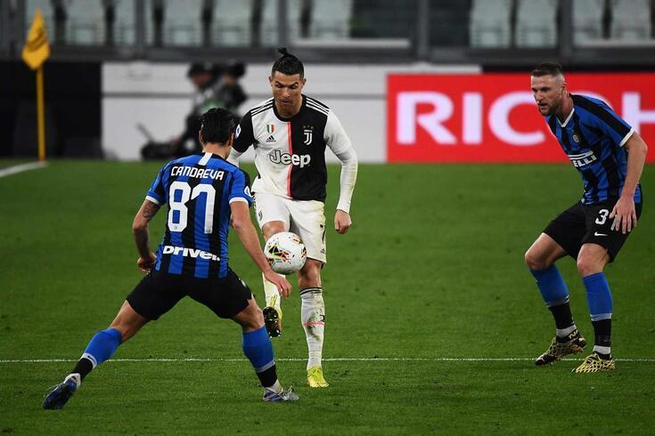 Cristiano Ronaldo em ação pela Juventus