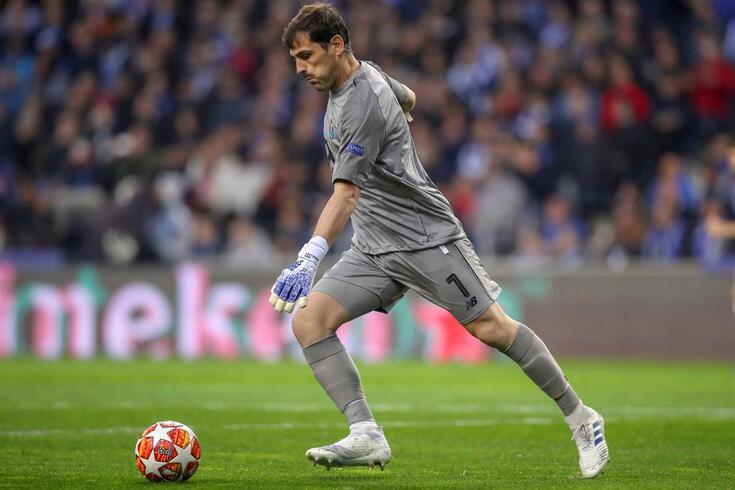 Iker Casillas, guarda-redes do FC Porto.