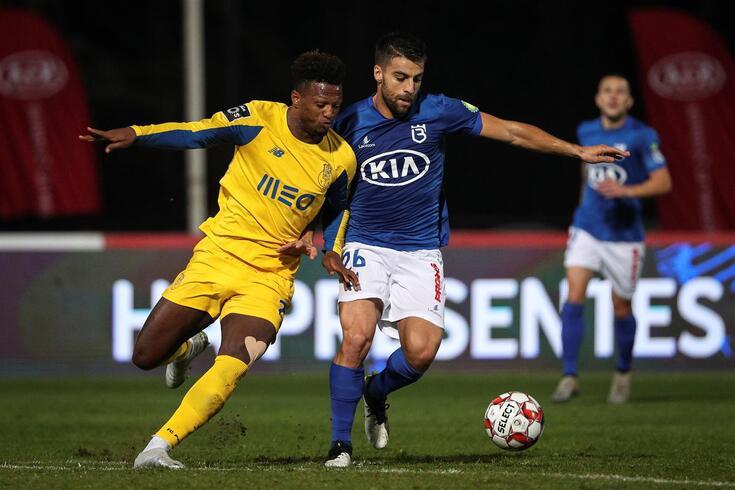 Belenenses SAD-FC Porto para a jornada 13 do campeonato