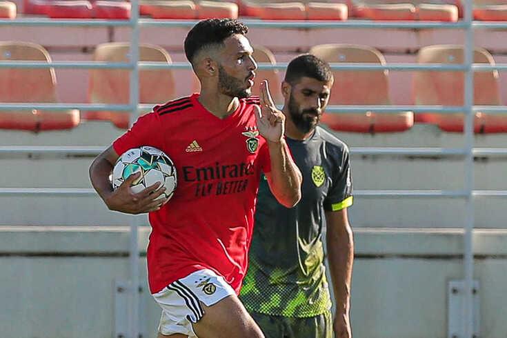 Gonçalo Ramos, avançado do Benfica B