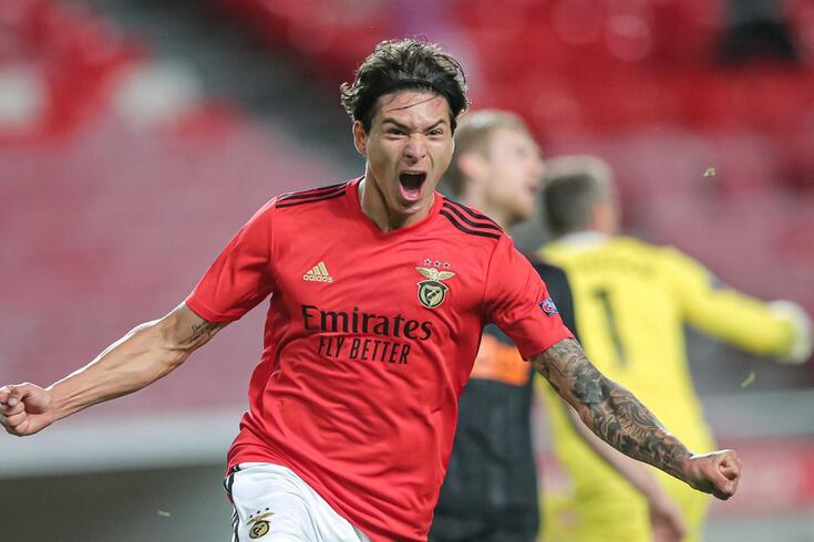 Darwin falhou os últimos três jogos do Benfica