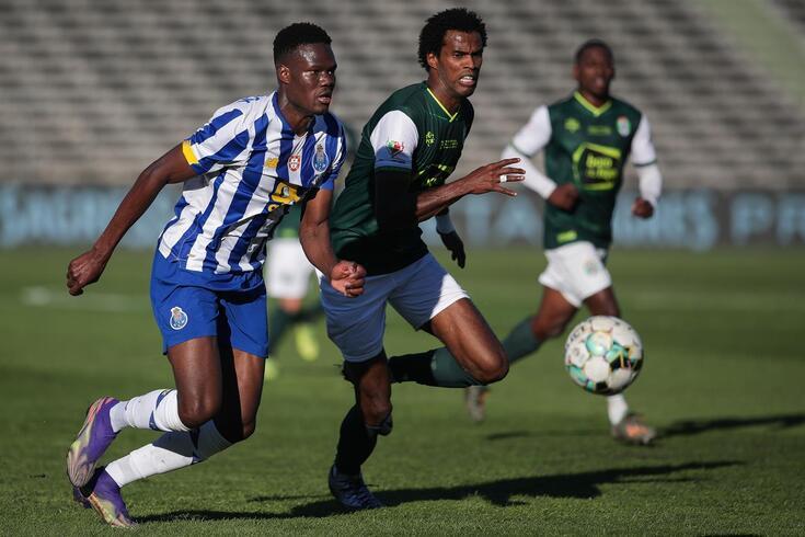 Loum foi central no FC Porto-Fabril