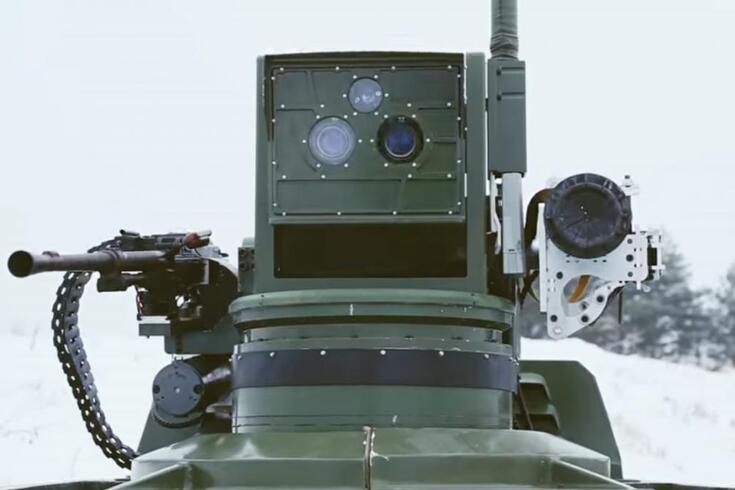 Rússia revoluciona operações militares com novo tanque-drone