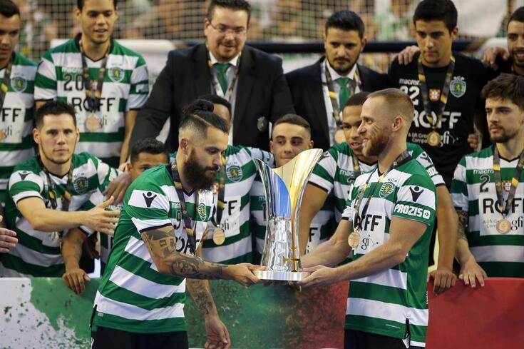 Sporting conquista Supertaça pela oitava vez
