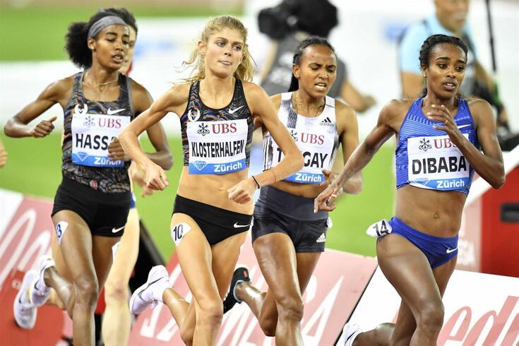 Dibaba, de 28 anos, foi campeã mundial dos 1 500 metros em 2015