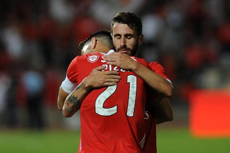 Os impressionantes números da sociedade Rafa e Pizzi no Benfica