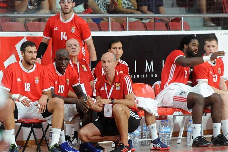 Carlos Resende, treinador do Benfica.