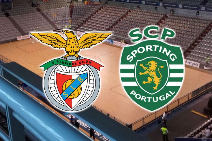 DIRETO HÓQUEI EM PATINS | Benfica-Sporting