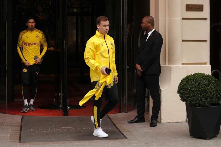 Gotze vai deixar o Dortmund a custo zero