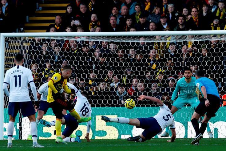 Watford e Tottenham não encontraram o caminho do golo