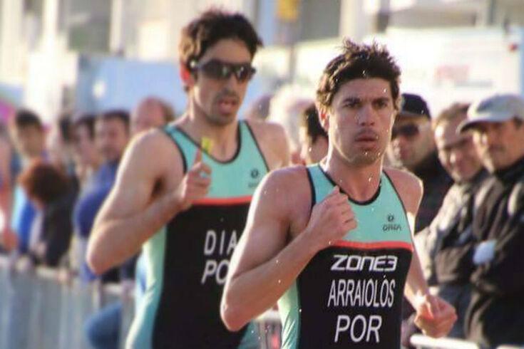 Miguel Arraiolos com desempenho modesto na Taça do Mundo de triatlo