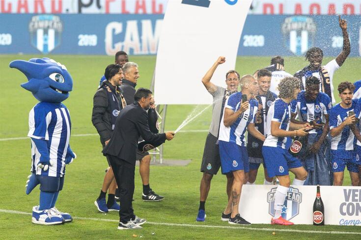 Sérgio Conceição conquistou o segundo campeonato ao comando do FC Porto