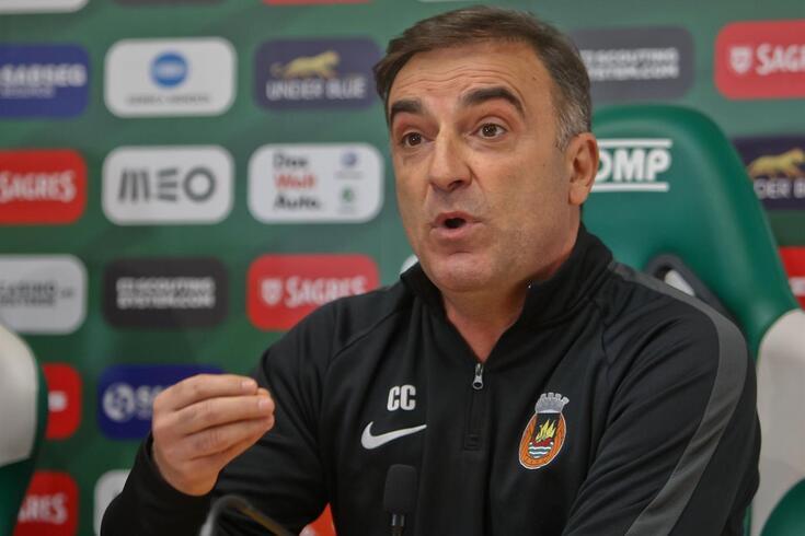 """Carvalhal não esquece a Taça da Liga: """"Fomos nitidamente afastados da competição"""""""