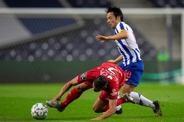 Nakajima perdeu espaço no FC Porto