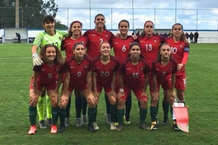 Sub-17: Seleção feminina entra a vencer no apuramento para o Europeu