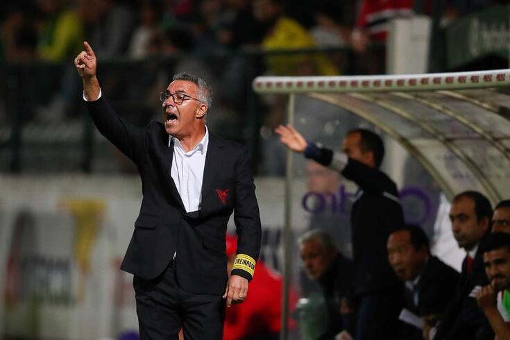 Augusto Inácio, treinador do Aves