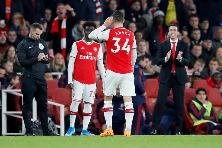 Xhaka pediu para não jogar contra o Leicester