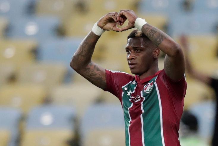 Yony González, avançado colombiano que assinou pelo Benfica... e ruma ao Brasil