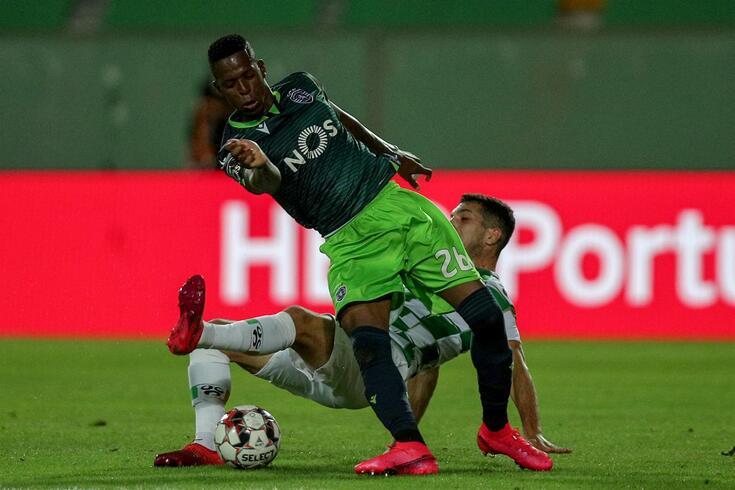 Borja marcou pontos ao serviço do Sporting