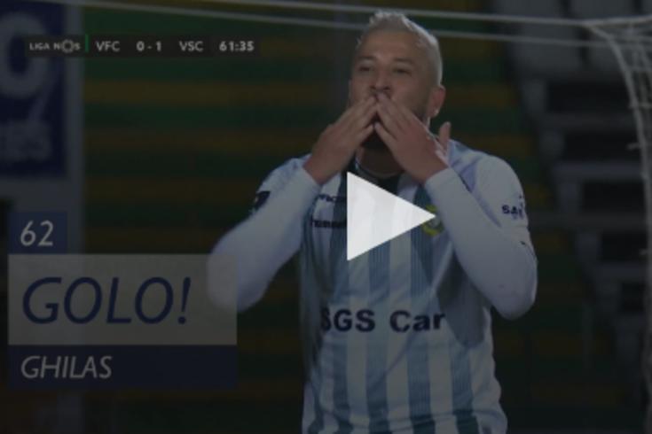 V. Setúbal-V. Guimarães: o golo de Ghilas que iguala a partida