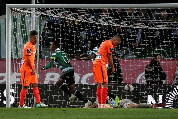 A vitória do Sporting sobre o Boavista contada num minuto