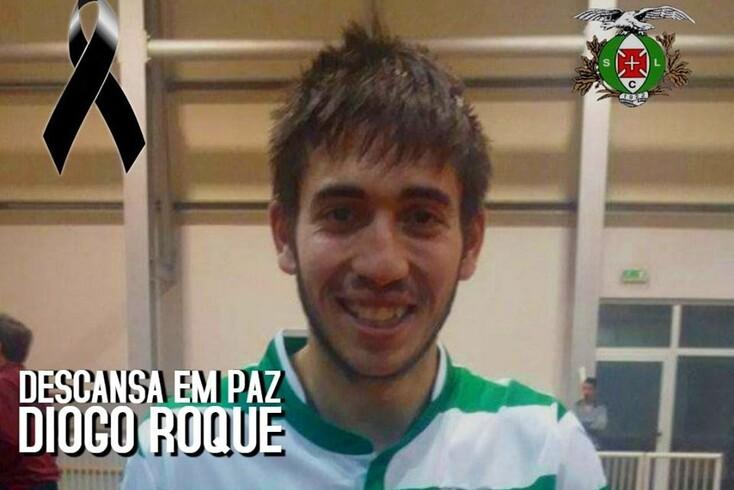 Diogo Roque, jogador de futsal do Lusitânia dos Açores