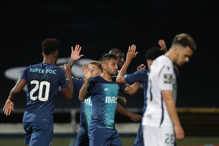 Corona marcou o golo do FC Porto em Famalicão