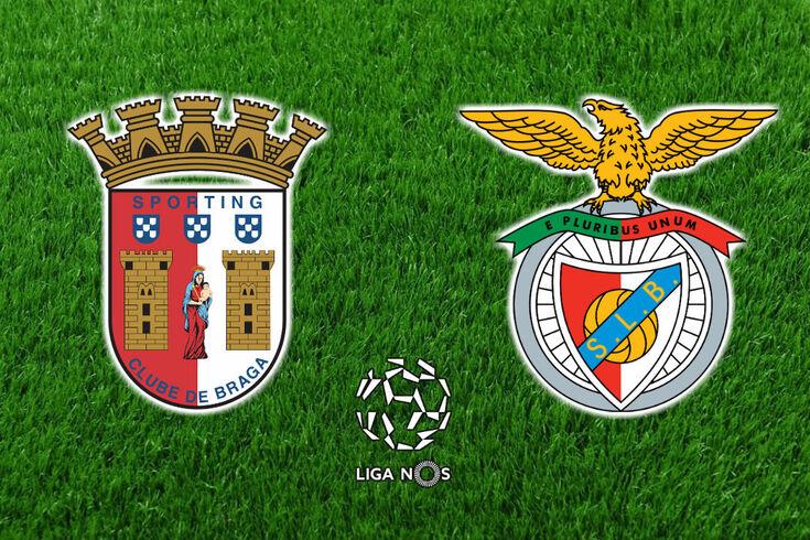 DIRETO | Braga-Benfica