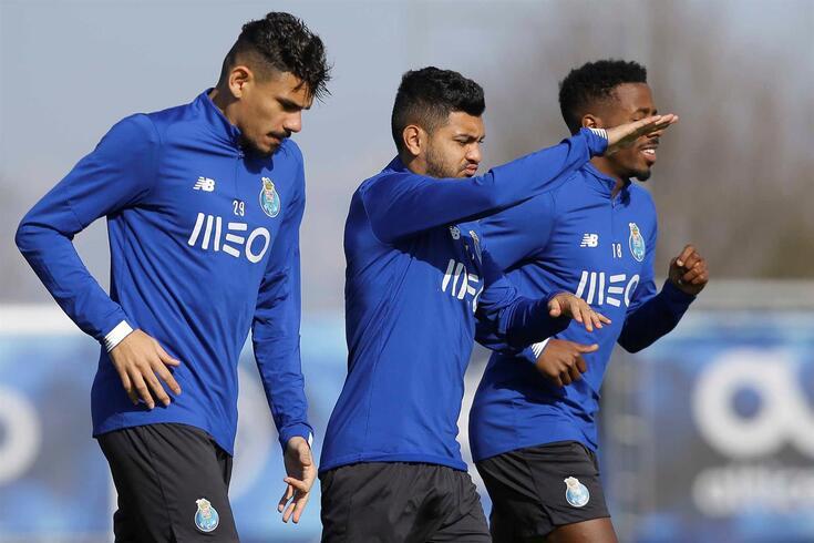 Nakajima avança na recuperação na semana do FC Porto-Benfica