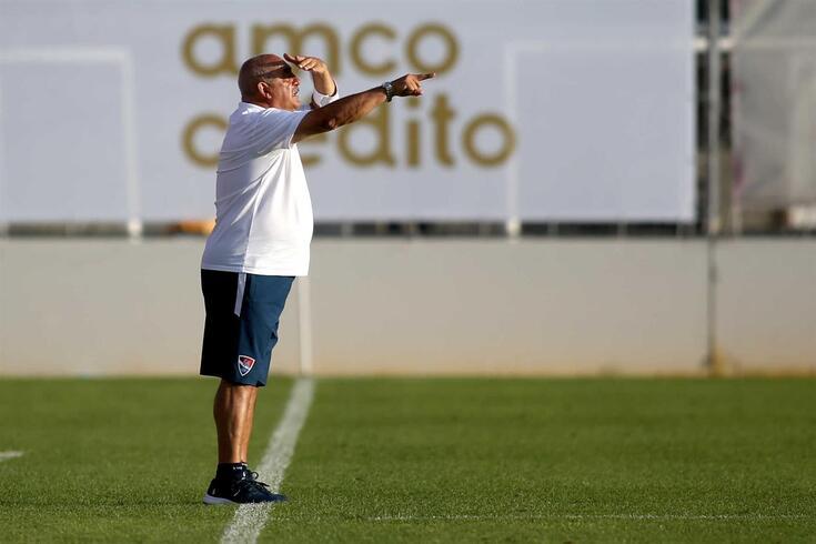 Vítor Oliveira, treinador do Gil Vicente