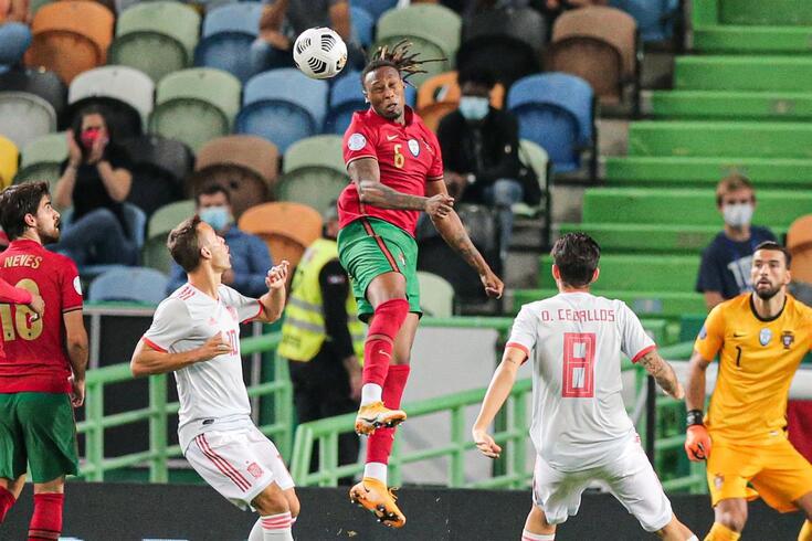 Rúben Semedo no primeiro jogo pela Seleção