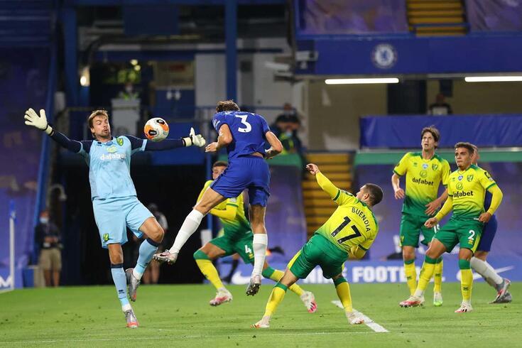 O Chelsea mantém o terceiro lugar da Premier League