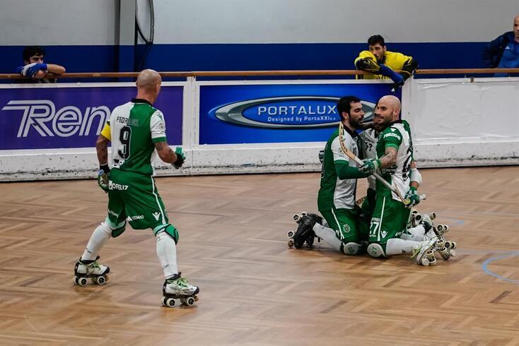 Sporting vence no primeiro jogo após o título europeu