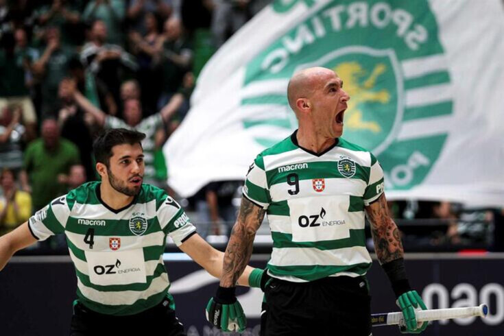 Sporting é detentor do título europeu