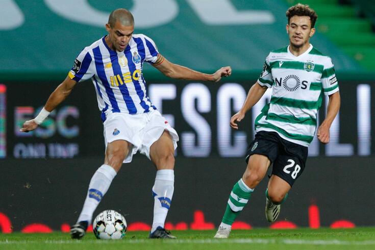 Pepe foi autoritário frente ao rival Sporting