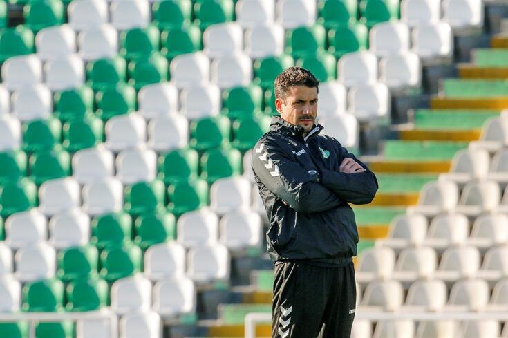 Julio Velázquez, treinador do Vitória de Setúbal