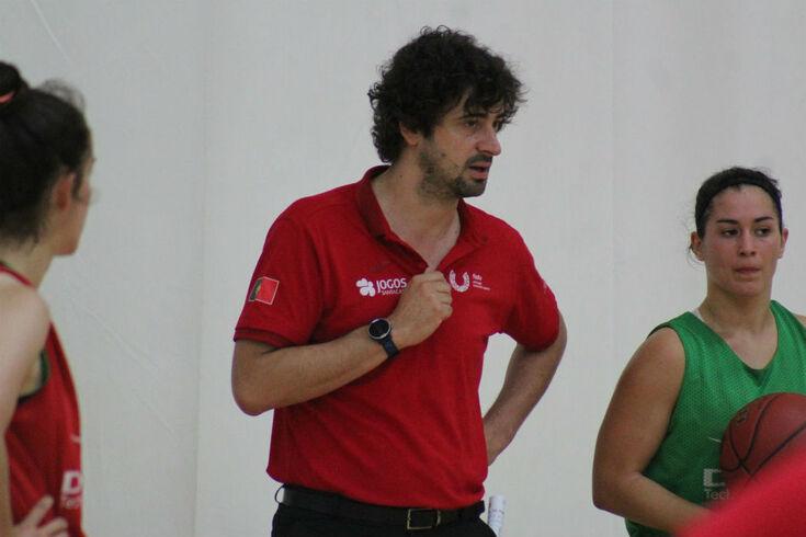 Ricardo Vasconcelos, selecionador da seleção A feminina de basquetebol