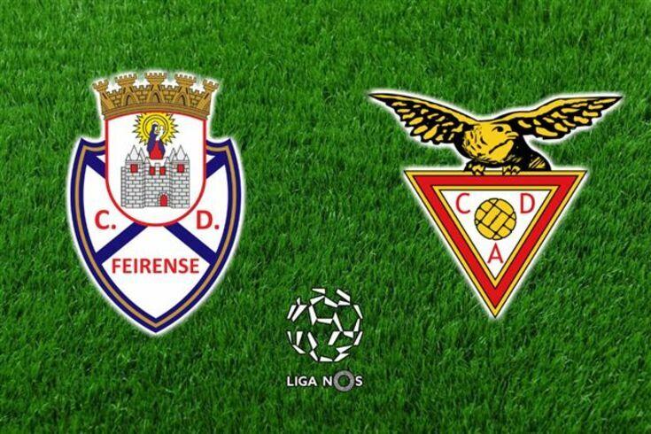 DIRETO | Feirense-Aves, 2-1