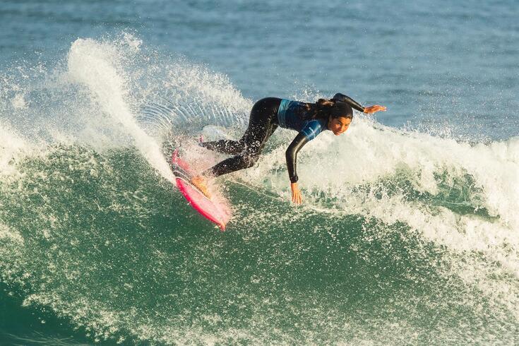 Teresa Bonvalot foi a única surfista portuguesa qualificada na Euro Cup